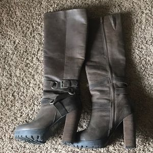 Steve Madden Kraaze Leather Boots